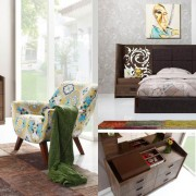 Flower Ceviz Yatak Odası (2)