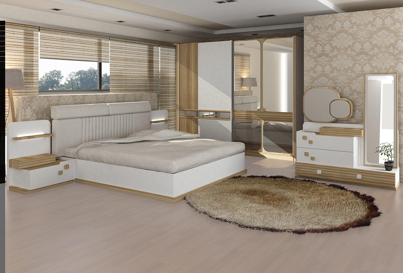 Platin Yatak Odası